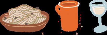 Cretan meal
