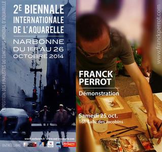 2ème Biennale Internationale de l'aquarelle à Narbonne