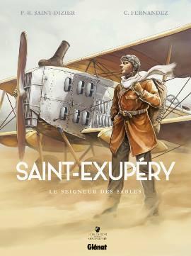 """""""Saint Exupéry"""" (Glénat) - Salon du livre de St-Etienne"""