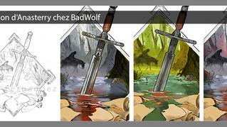 Illustration d'Anasterry chez BadWolf