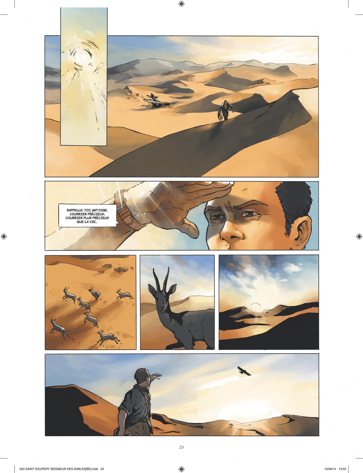 St-Exupéry tome 1 Le seigneur des sables - 4