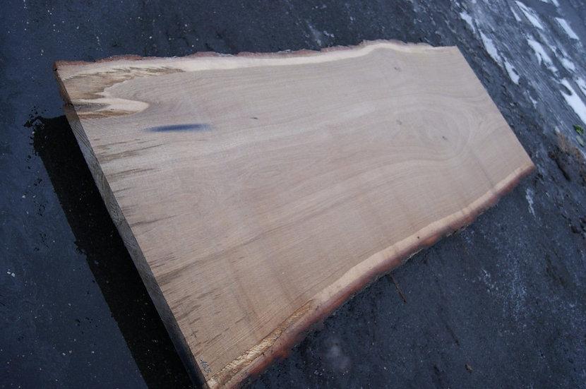 Eichenbohle 90x230 cm mit Granatsplitter