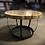 Thumbnail: Eichenrund Tisch im Retro Fass Design