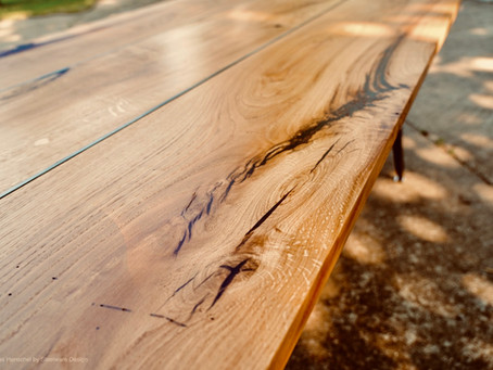 Konferenztisch aus Eiche 3100x1100mm