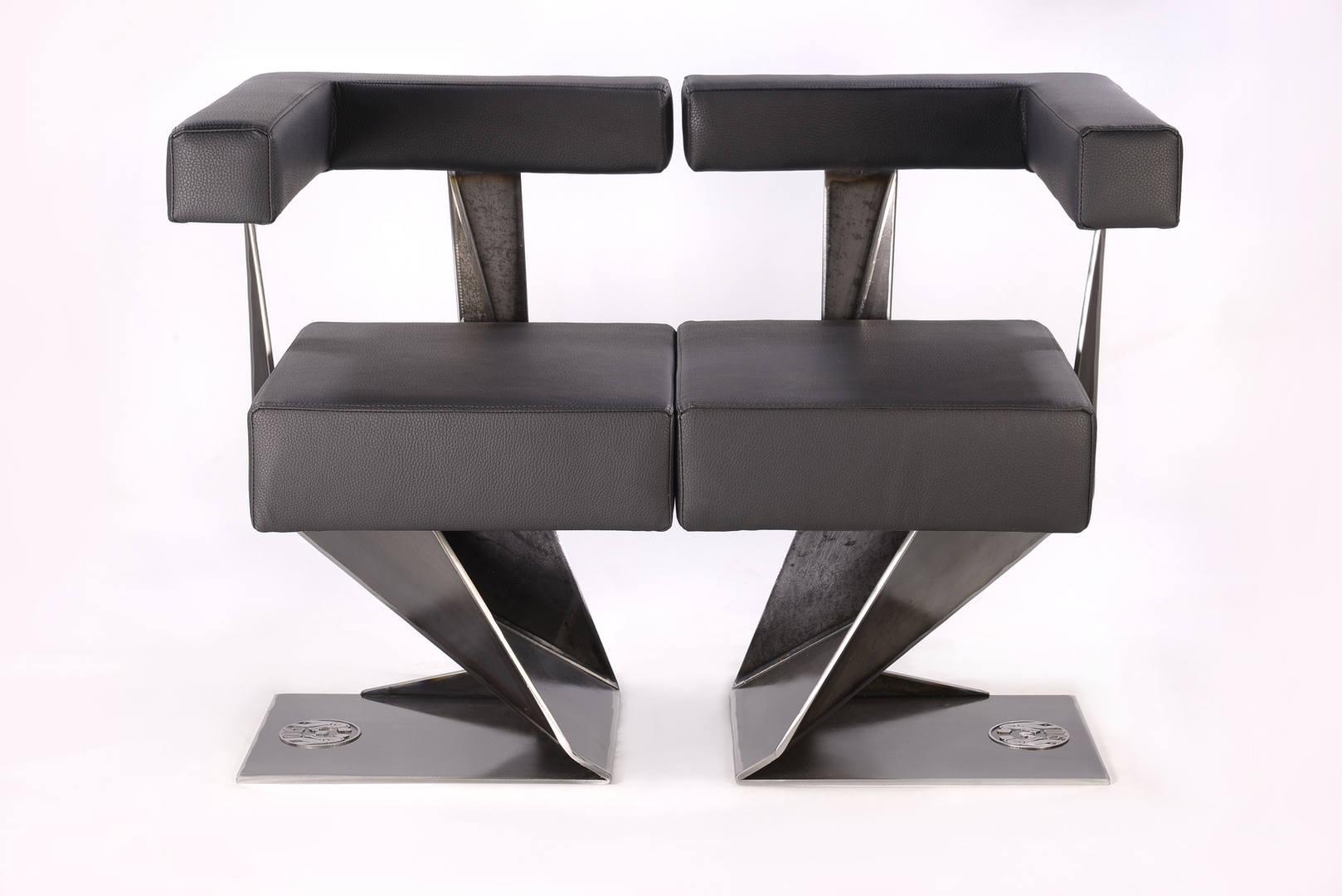 Geometik-L Stuhl-Modular-Steelware Desig