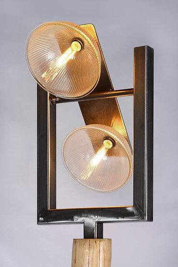 Steelwood No.2 mit 360° Lampenschirm