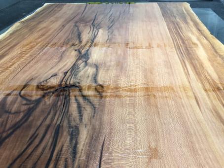 Plantanen Tischplatte