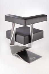 Geometik-L Stuhl-360-Steelware Design-An