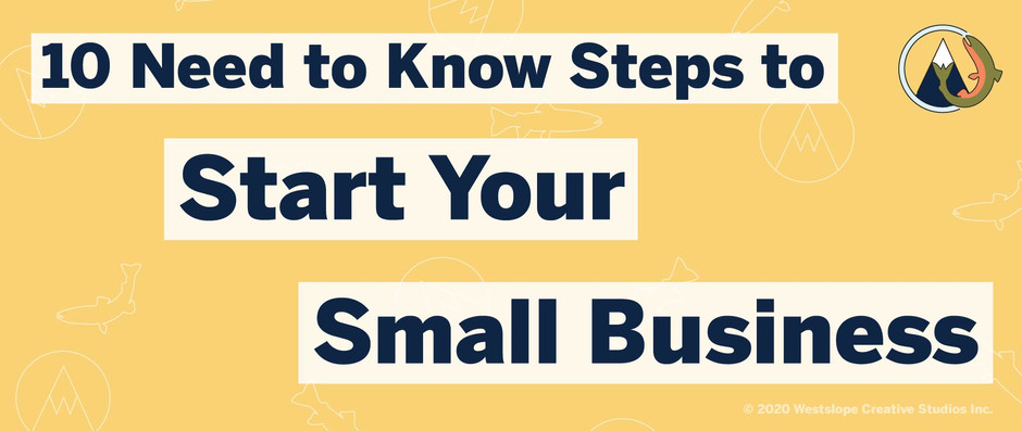 10 Need to Steps to Start Your Small Business