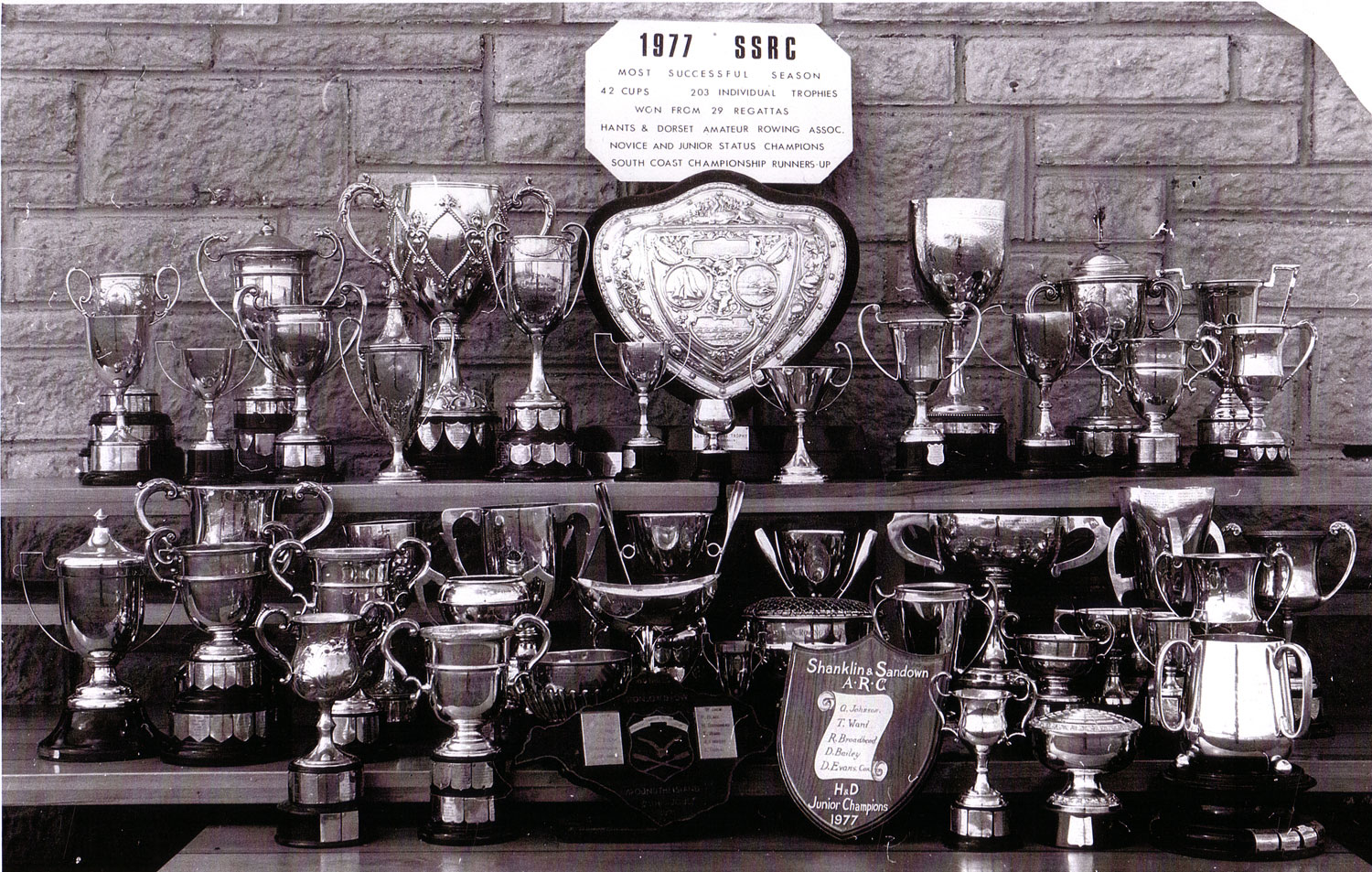 1977 a record year for trophies!