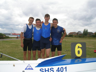 Triple Success for SSRC at Woolston Regatta!