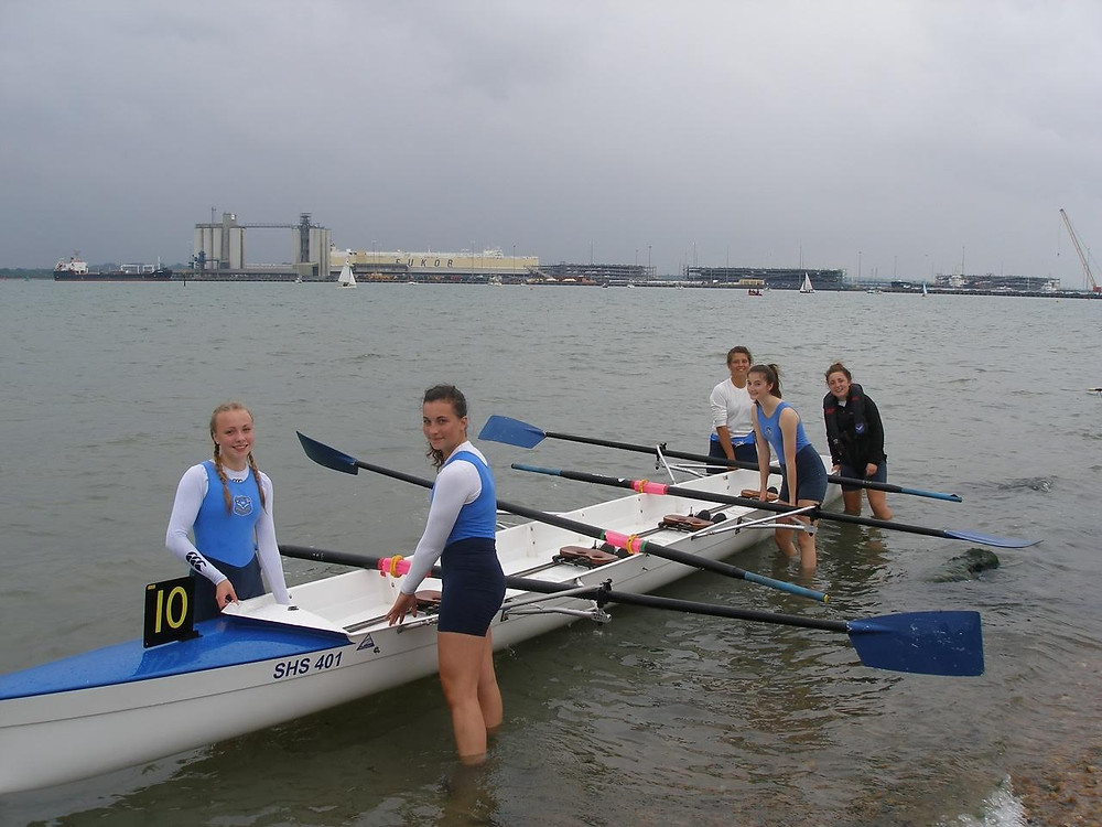 The J16 crew from left-Juliette Wrixon Daisy Faithfull Amber De Landro Sophie Swallow and Hannah Cusworth -Cox.jpg