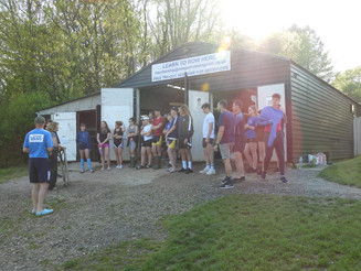 Easter Camp sizzling for rowers!!