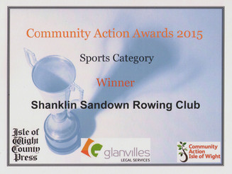 First Place for SSRC at IWCP Local Community Action Awards!