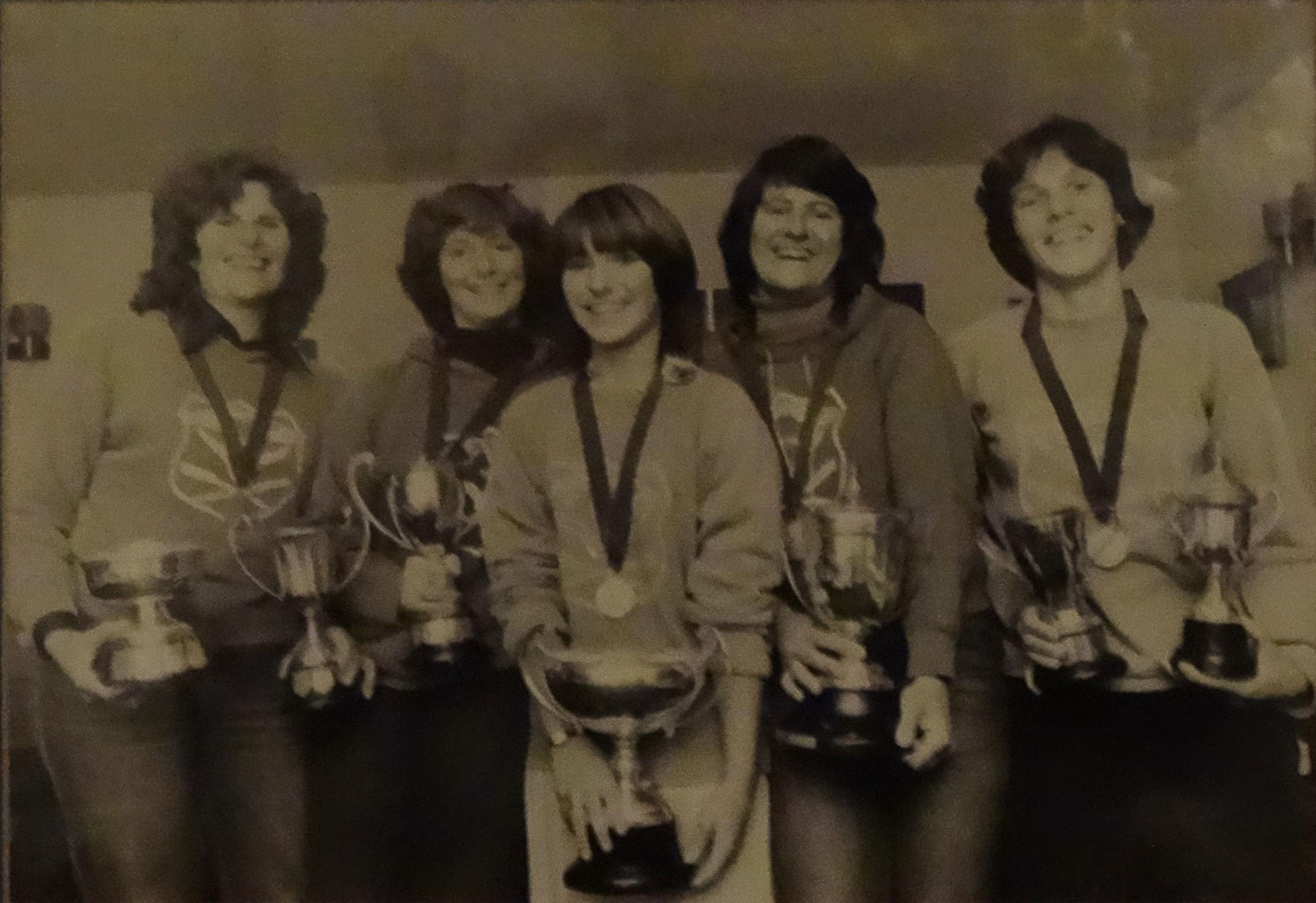 1981 Ladies South Coast Champions