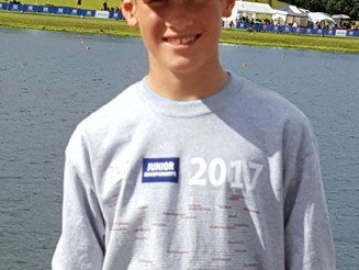 Ethan performs well at British Junior Rowing Champs!