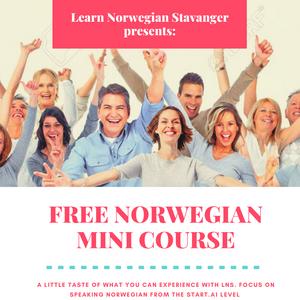 Learn And Speak Norwegian | Free Norwegian Speaking Course