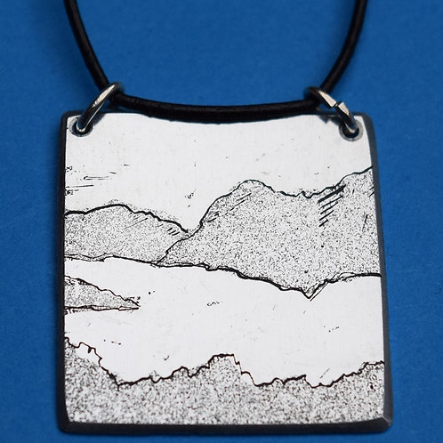 Ullswater -  etched pendant & card
