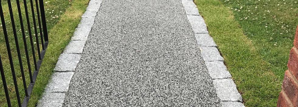Front Garden Resin Pathway