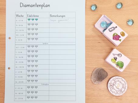 Diamantenplan - mein Belohnungssystem