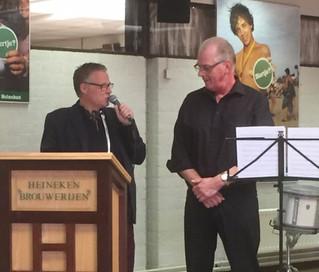 Afscheid Henry Janssen van percussie ensemble in Den Bosch