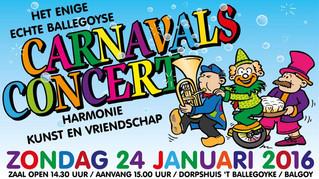 Carnavalsconcert 2016