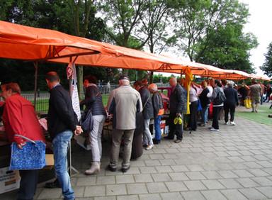 Ophaalochtend rommelmarkt Harmonie laatste zaterdag van de maand