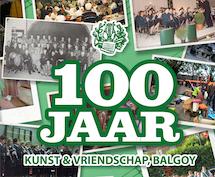 100 jaar Kunst en Vriendschap - Eeuwig Jong