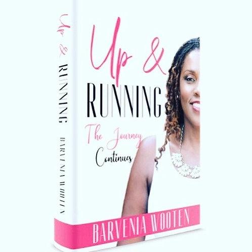 Up & Running Book by Barvenia Wooten