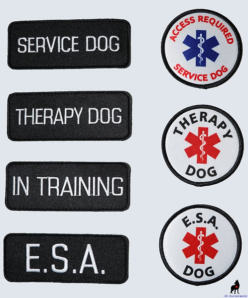 Extra Velcro Patches (rectangle and round)