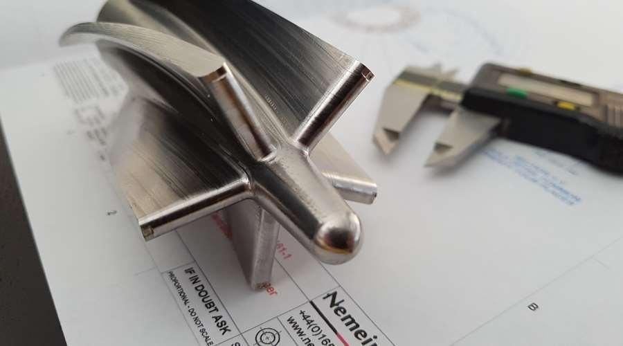 Nemein turbine component