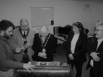 Bridgend Mayor visits Nemein