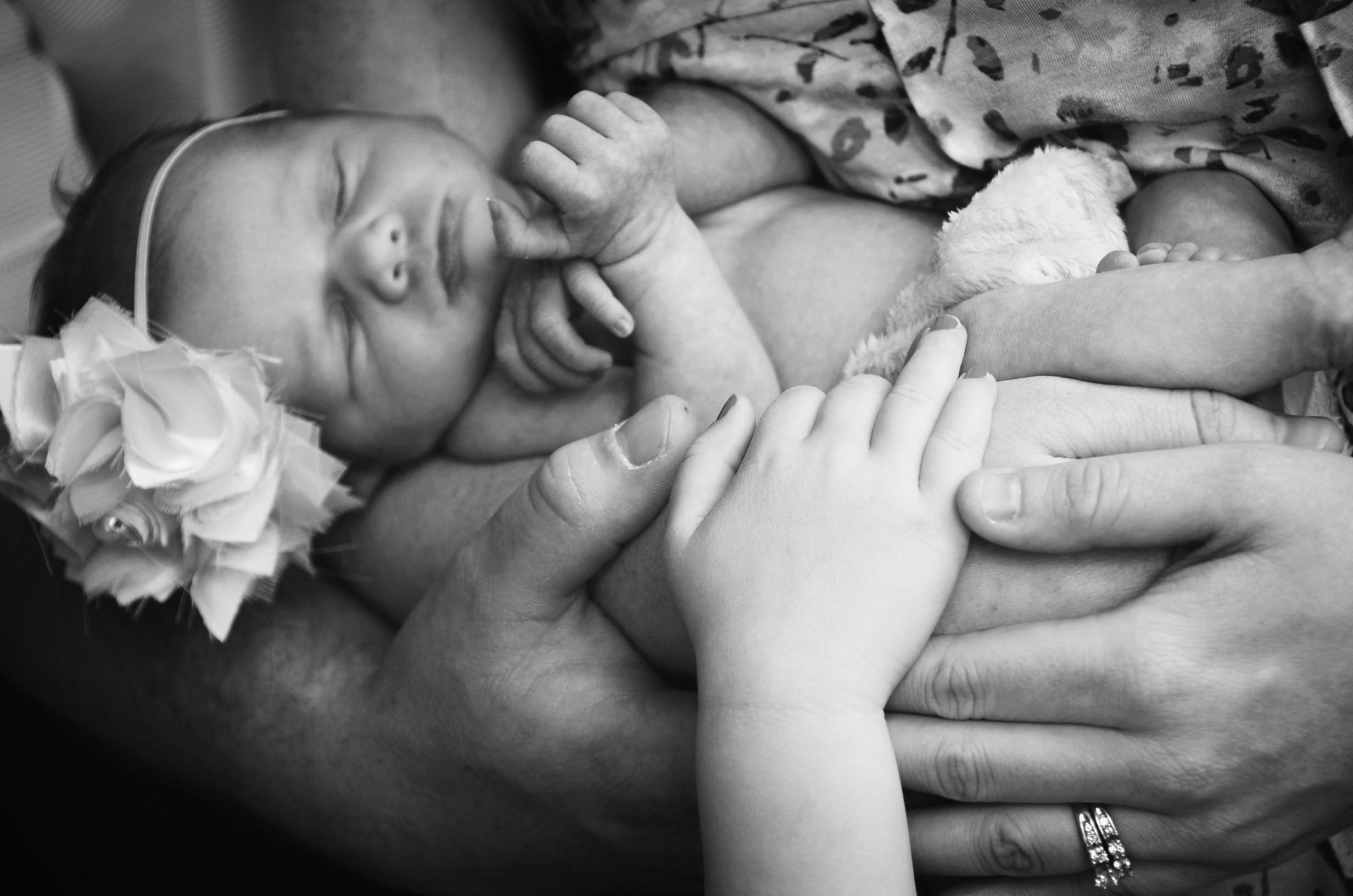 Oswego newborn photographer