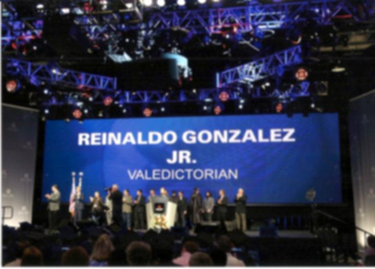 Reinaldo Gonzalez July 2016 Valedictorian