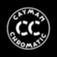 cayman chromatic logo white circle shado