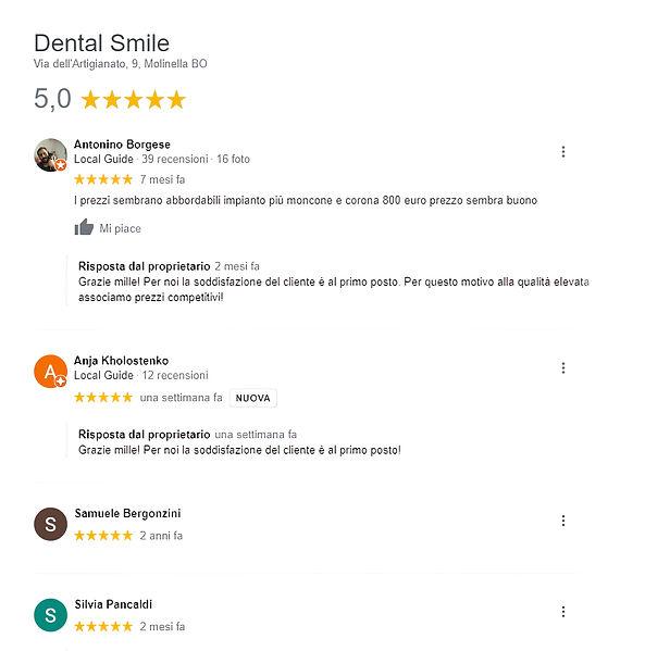 Recensioni Dental Smile