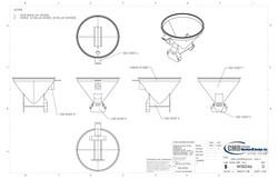 Custom Machine & Design FEED HOPPER
