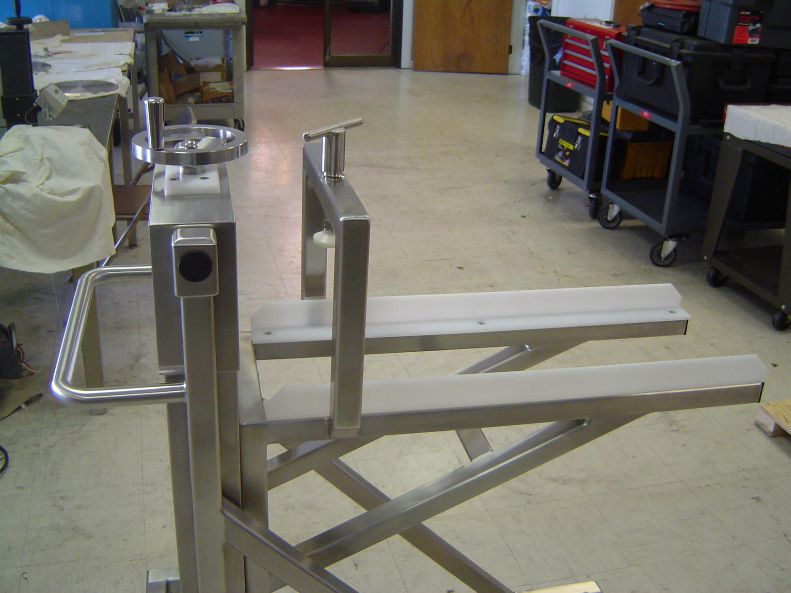 Custom Machine & Design Ejector Cart