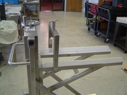 Custom Machine & Design Ejector Cart