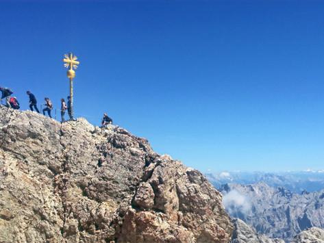 Die Zugspitze auf Schusters Rappen