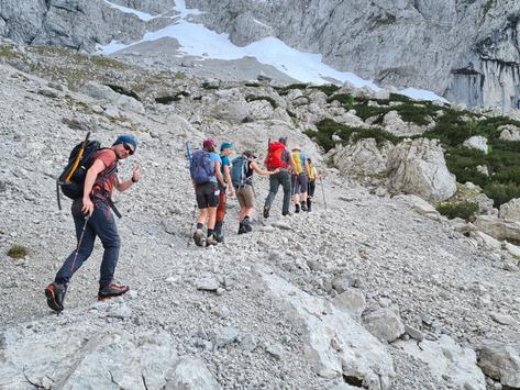 DAV-Lehrgang zur Trainerin C Bergwandern