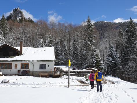 Tourenvorschlag für den Corona-Winter