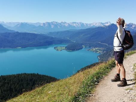 Sechs Seen auf einen Blick