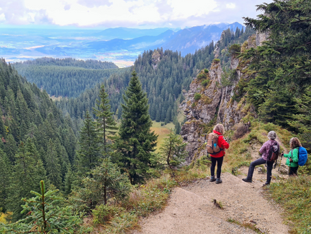 Autumn hike to the Laber