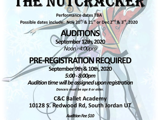 The Nutcracker Auditions!