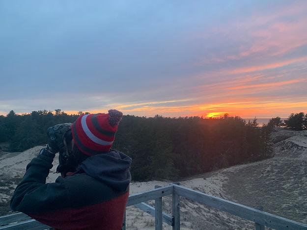 hawk platform sunset.jpg