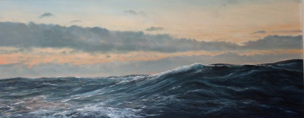 Mid Atlantic sunset swell