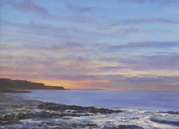Twighlight from Penmon Point - Landscape - North Wales