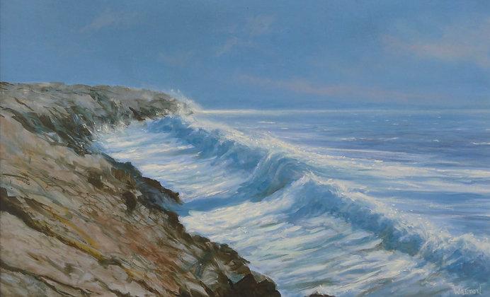 Evening Surf near Aberffraw