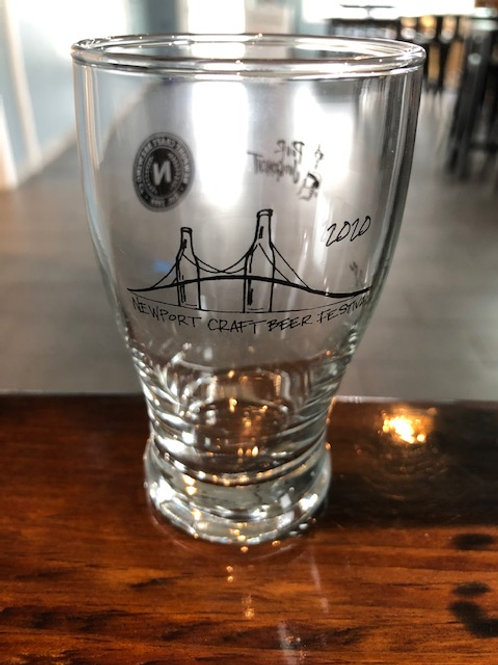 Newport Beer Festival Tasting Glass (in Brewery pick up only)